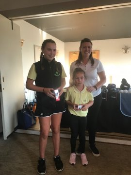 Pirate Golf winner Hattie 