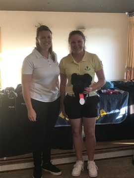 Longest Driver winner Ellise