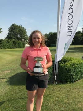 Lincolnshire U21 Open Girls Championship winner - Ellise Rymer