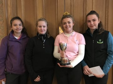 Spring Stableford - Isabella, Courtney, Tilly & Hattie