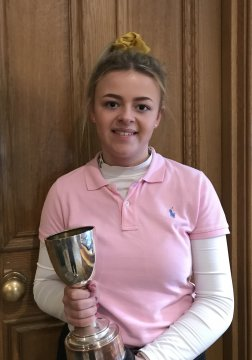 Spring Stableford winner - Tilly Garfoot