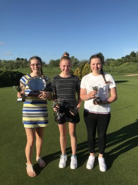 County Girls Champion & U18 Champion Kazzia