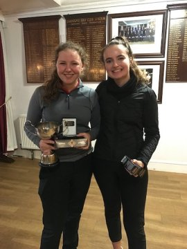 Match Play winner and runner up