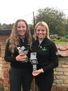 Gross Order of Merit winner Ellise Rymer