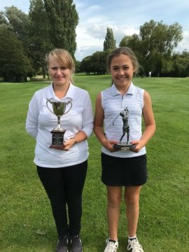 Summer Stableford winner Courtney