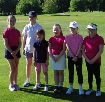 Chicks attending the first Tour event at Woodhall Spa on Saturday, 19th May.