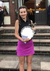 County Champion & Under 18 Champion - Ellie Haughton