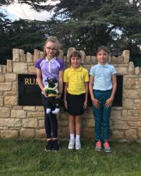 9 Hole Competitors - Sophie Robinson, Ruby Creasey & Beth Gough